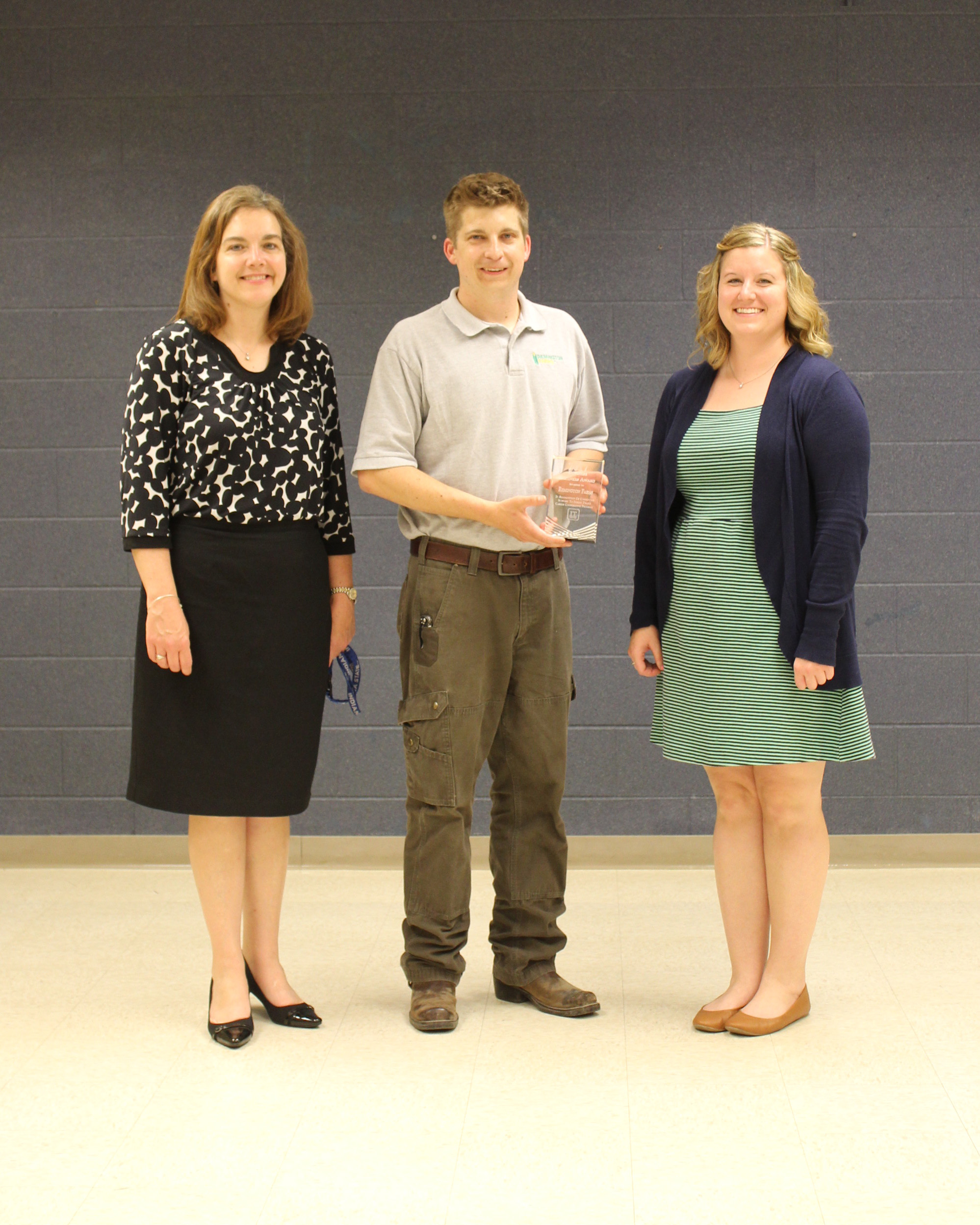 Cathy Rowe, Quinten Overbeck - Remington Farms Business Partner, Ashley Steuer