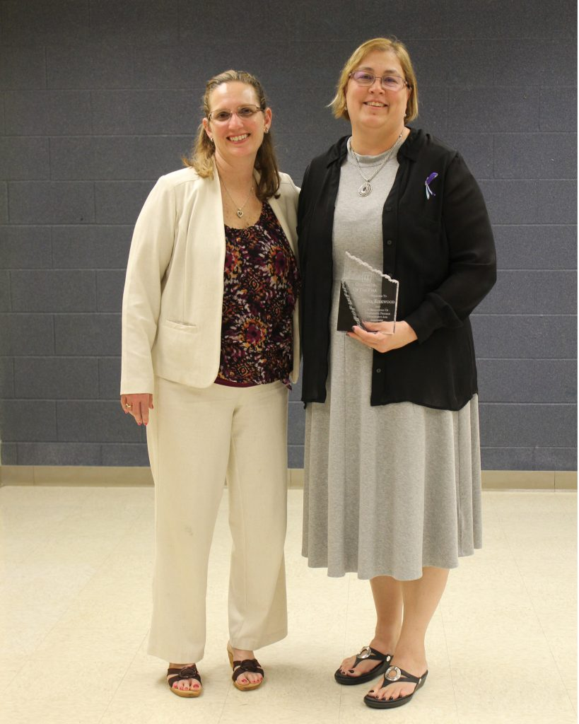 Ann Marie Circle, Dana Kirkwood - Counselor of the Year