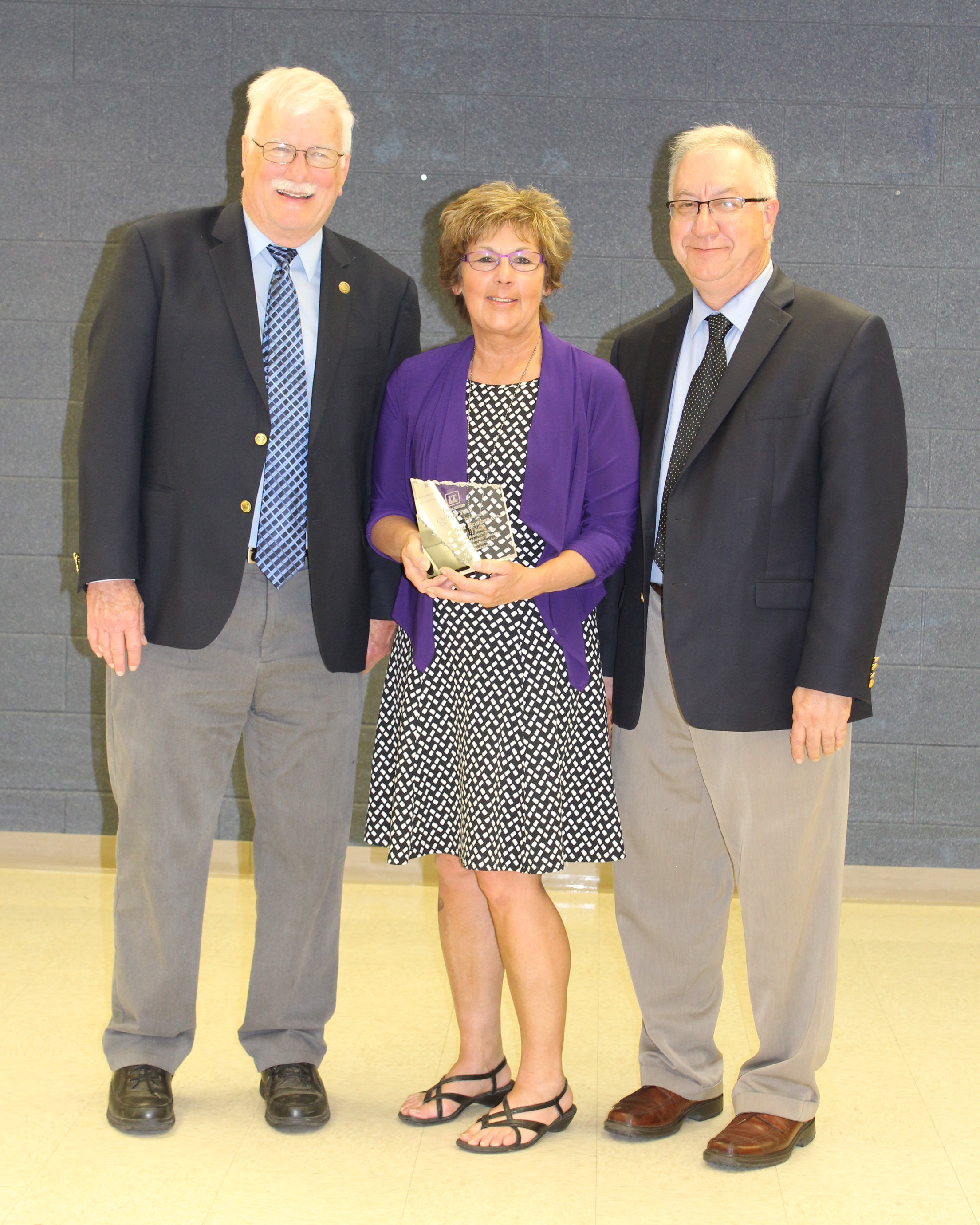 Michael Kelly, Kim Rosenbaum - Teacher of the Year, Jim Stradling